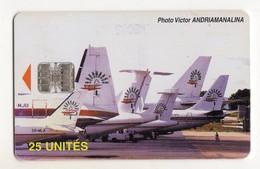 MADAGASCAR Ref MV Cards MDG-P-22 25U AIR MADAGASCAR 1  20 000EX - Madagaskar