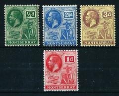 Montserrat (Británica) Nº 57-62-64A-75 Nuevo* - Montserrat