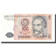 Billet, Pérou, 100 Intis, 1987, 1987-06-26, KM:132a, SPL - Perù