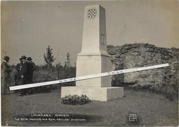 Langemarck  * (Photo Antony D'Ypres ,Ostende)  Mémorial, The Royal Ingineers & Royal Attillery 34th Division - Langemark-Poelkapelle