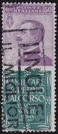 Italia Regno Pubblicitari 193 € 1924-25 50 C. Piperno N. 13. Cat. € 600,00. SPL - 1900-44 Vittorio Emanuele III