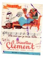 Buvard Biscottes Clément Dis Moi Que Je Suis Belle Chat Egypte Rouen Cleopatre - Zwieback