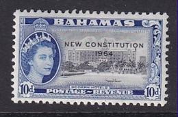 Bahamas: 1964   QE II 'New Constitution' OVPT   SG237    10d    MH - 1963-1973 Interne Autonomie