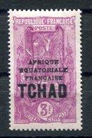 RC 17629 TCHAD COTE 17,50€ N° 55 SURCHARGÉ TCHAD NEUF ** MNH TB - Chad (1922-1936)