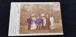 Cpp Au Bord De L'eau En Forêt Militaire Du 13è RI à Bourges 18 Cher En 1907 Adr Pierre FALCUCCI ? Rue Batignolles Paris - Genealogie