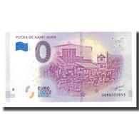 France, Billet Touristique - 0 Euro, 93/ Saint-Ouen - Marché Aux Puces De - Frankrijk