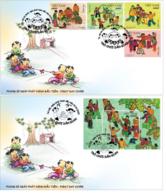 FDC Vietnam Viet Nam Covers Issued On 1 Jun 2020 : Vietnamese Traditional Children Games (Ms1124) - Vietnam
