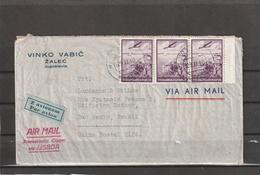 Yugoslavia TRANSATLANTIC CLIPPER VIA LISBOA Portugal AIRMAIL COVER To Brazil 1940 - 1931-1941 Kingdom Of Yugoslavia