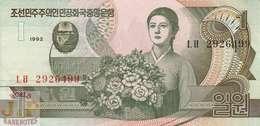 KOREA 1 WON 1992 PICK 39 UNC - Korea, Noord