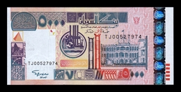 Sudan 5000 Dinars 2002 Pick 63 SC UNC - Sudan