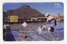 MAURICE Ref MV Cards MAU-47  115 U SALT PANS LES SALINES Date 2001 - Mauritius