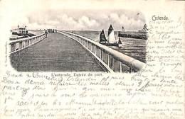Ostende - L'estacade. Entrée Du Port (E. Veeck) - Oostende