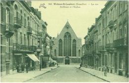 Woluwé St. Lambert. Rue St.Henri Et L'Eglise. - St-Lambrechts-Woluwe - Woluwe-St-Lambert
