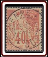 Colonies Générales - N° 57 (YT) N° 57 (AM) Oblitéré De Cayenne / Guyane. - Alphée Dubois