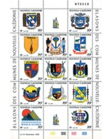 Ref. 232633 * MNH * - NEW CALEDONIA. 1993. COAT OF ARMS OF NEW CALEDONIA . ESCUDOS DE NUEVA CALEDONIA - Coat Of Arms