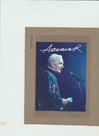 Armenia 2018 - Cartolina Postale** Charles Aznavour Con Autografo Al Verso - Muziek