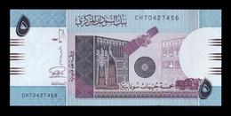 Sudan 5 Pounds 2015 Pick 72c SC UNC - Soudan