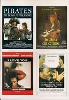 580 REPRODUCTIONS EN MINIATURE D'AFFICHES DE CINÉMA SUR FICHES AVEC INFORMATIONS SUR CHAQUE FILM. - Posters