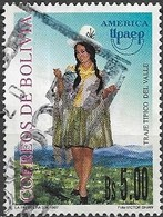 BOLIVIA 1997 America. Traditional Costumes - 5b - Valley FU - Bolivie