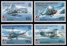 BAT / Brit. Antarktis 2009 - Mi-Nr. 496-499 ** - MNH - Flugzeug / Airplanes - British Antarctic Territory  (BAT)