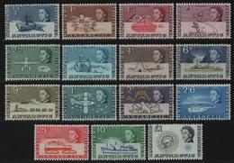 BAT / Brit. Antarktis 1963 - Mi-Nr. 1-15 ** - MNH - Antarktisforschung (I) - British Antarctic Territory  (BAT)