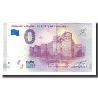 France, Billet Touristique - 0 Euro, 49/ Angers - Le Domaine National Du - Frankrijk