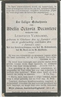 BP Decantere Adelia Octavia (Geluwe 1833 - 1907) - Collections