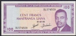 Ref. 3609-4046 - BIN BURUNDI . 1990. BURUNDI 100 FRANCS 1990 - Burundi