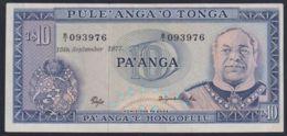 Ref. 3562-3999 - BIN TONGA . 1977. TONGA 10 PA'ANGA 1977 - Tonga