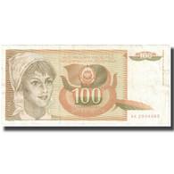 Billet, Yougoslavie, 100 Dinara, 1990, KM:105, TB - Joegoslavië