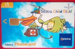 $5 Telstra Child Flight - Australia