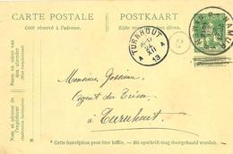 E.P. - Pk. 5 Cent. Pellens - Afgest./obl. Namur 1G. 23/07/1913 >> Turnhout A. - Ganzsachen
