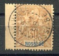 RC 17652 NOSSI-BÉ COTE 16€ N° 35 TYPE GROUPE OBLITÉRÉ USED - Usados
