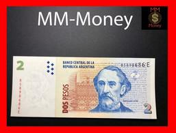 ARGENTINA 2 Pesos 2005 P. 352 Serie E  UNC - Argentina