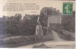 Tiffauges L'Entree Du Chateau  1913 - La Roche Sur Yon