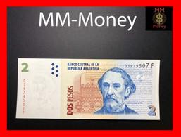 ARGENTINA 2 Pesos 2005 P. 352 Serie F  UNC - Argentine