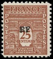 ** FRANCE - Libération (N° Et Cote Mayer) - Orléans 3c: 25c. Brun-jaune, Signé Roumet - Liberation