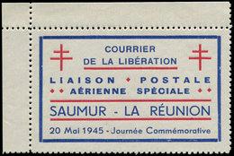 (*) FRANCE - Libération (N° Et Cote Mayer) - Saumur 1, Cdf, Toujours Sans Gomme - Liberation