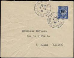 LET FRANCE - Libération (N° Et Cote Mayer) - Tours-Gare 10, Sur Lettre Du 4/9/44 - Liberation