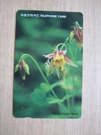 Autelca Magnetic Phonecard, Flower, Used - Korea (Zuid)