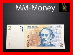ARGENTINA 2 Pesos 2010 P. 352 Serie L  UNC - Argentina