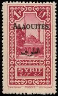 * ALAOUITES - Poste - 26, Surcharge Doublée: 1p. Rose-lilas - Unclassified