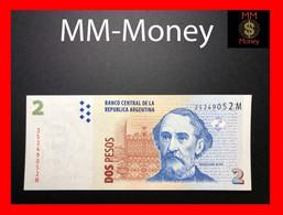 ARGENTINA 2 Pesos 2013 P. 352 Serie M  UNC - Argentine