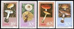 Ciskei - 1988 Poisonous Fungi Set (**) # SG 141-144 , Mi 145-148 - Ciskei