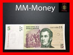 ARGENTINA 5 Pesos 2005 P. 353 Serie D  UNC - Argentina