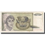 Billet, Yougoslavie, 100 Dinara, 1991, KM:108, TB - Joegoslavië