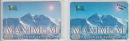ISRAEL 2009 MAXIMUM EVEREST Z-TOV 1000 UNITS AND OVERPRINT 2 CARDS - Israel