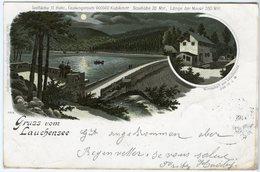 CPA 68 - Guebwiller - Gebweiler Gruss Vom Lauchensee Lac De La Lauch Barrage Et Hotel Le Markstein Vers 1898 - Guebwiller