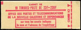 ** NOUVELLE-CALEDONIE - Carnets - C-139, Carnet Complet 230f: Concorde - Neukaledonien