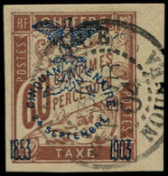 O NOUVELLE-CALEDONIE - Taxe - 13, Superbe, Petit Bdf: 60c. Brun - Neukaledonien